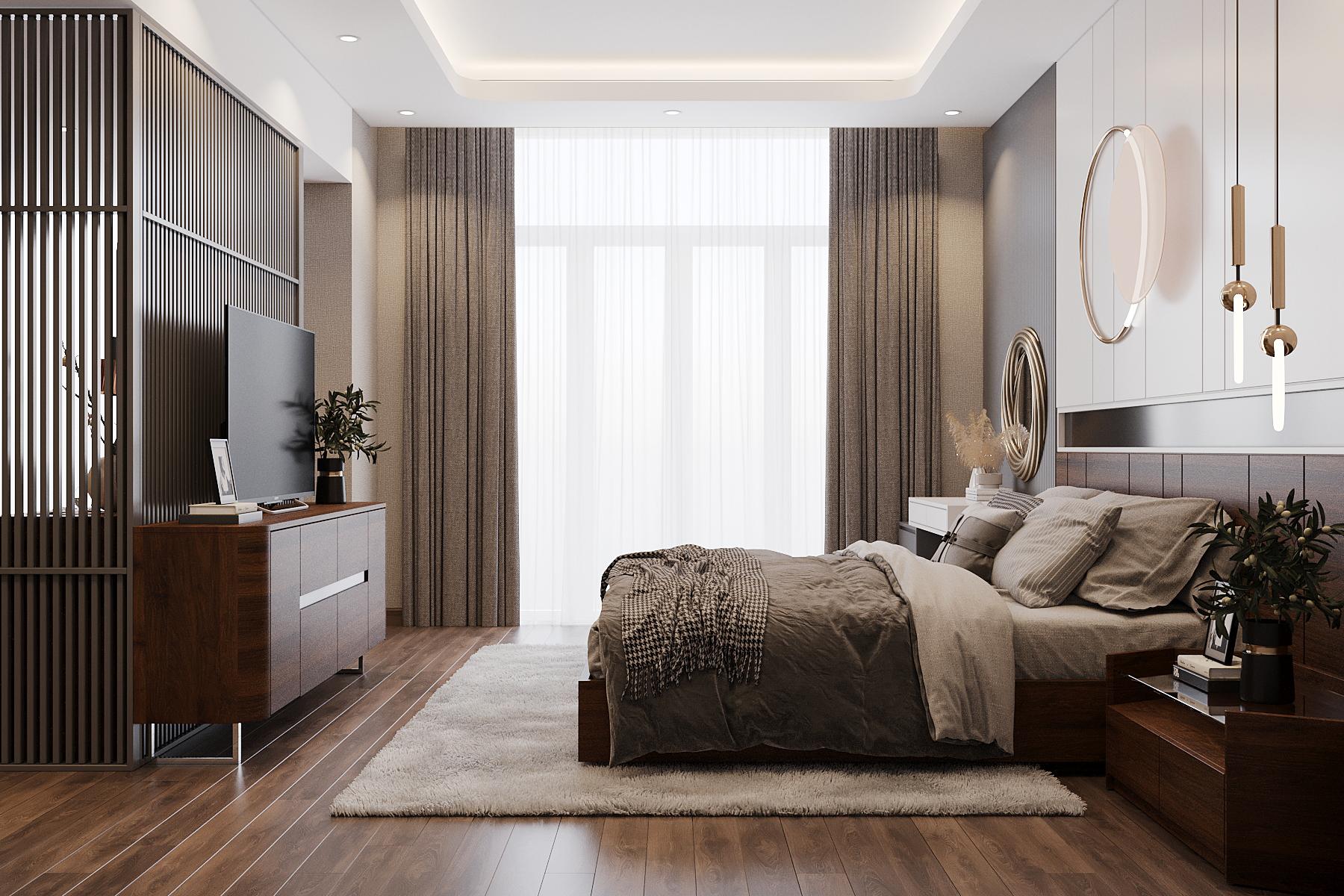 Thiết kế nội thất Nhà tại Quảng Ninh nhà lô anh Hiếu Uông Bí 1627033789 3