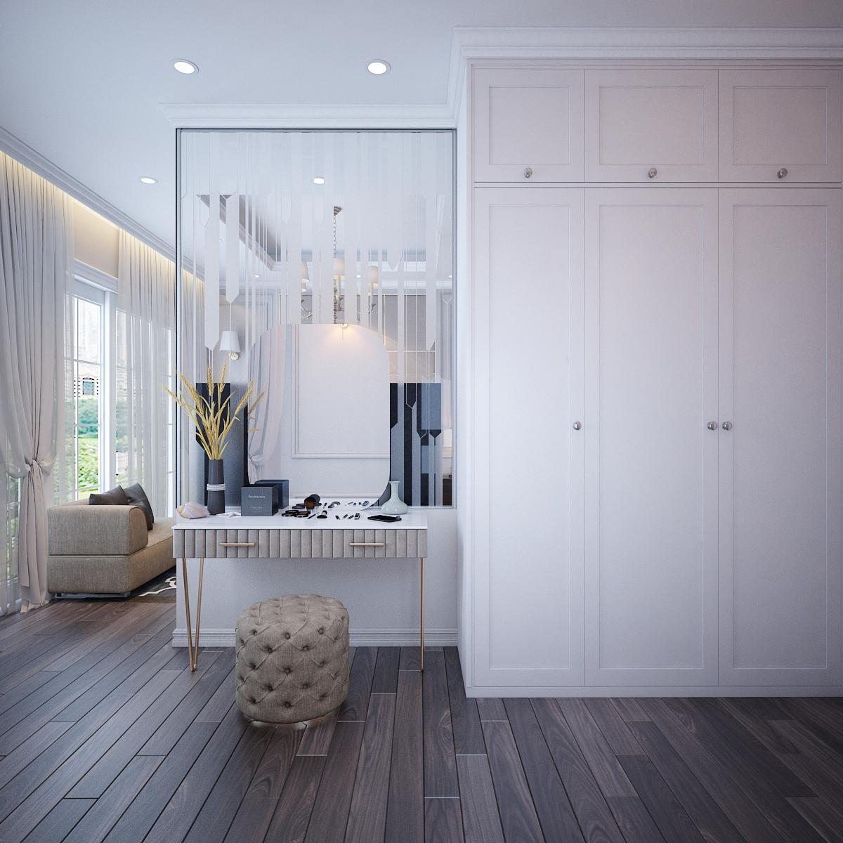 thiết kế nội thất Biệt Thự tại Hồ Chí Minh Biệt Thự Chị Thu 10 1550734332