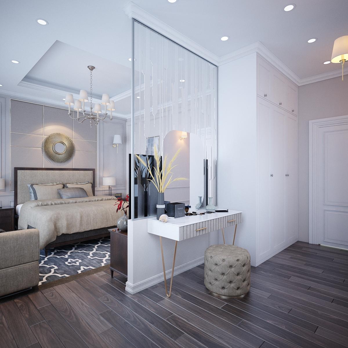 thiết kế nội thất Biệt Thự tại Hồ Chí Minh Biệt Thự Chị Thu 11 1550734332