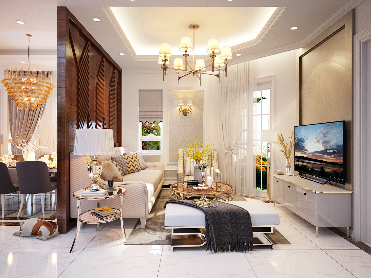 thiết kế nội thất Biệt Thự tại Hồ Chí Minh Biệt Thự Chị Thu 1 1550734330