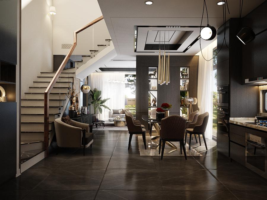 thiết kế nội thất Biệt Thự tại Hồ Chí Minh Noddy 1 1562643575