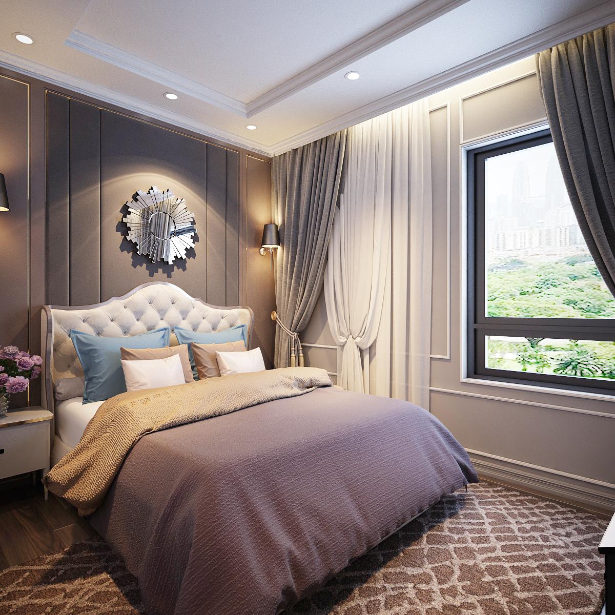 thiết kế nội thất Biệt Thự tại Hồ Chí Minh Biệt Thự Chị Thu 16 1550734334
