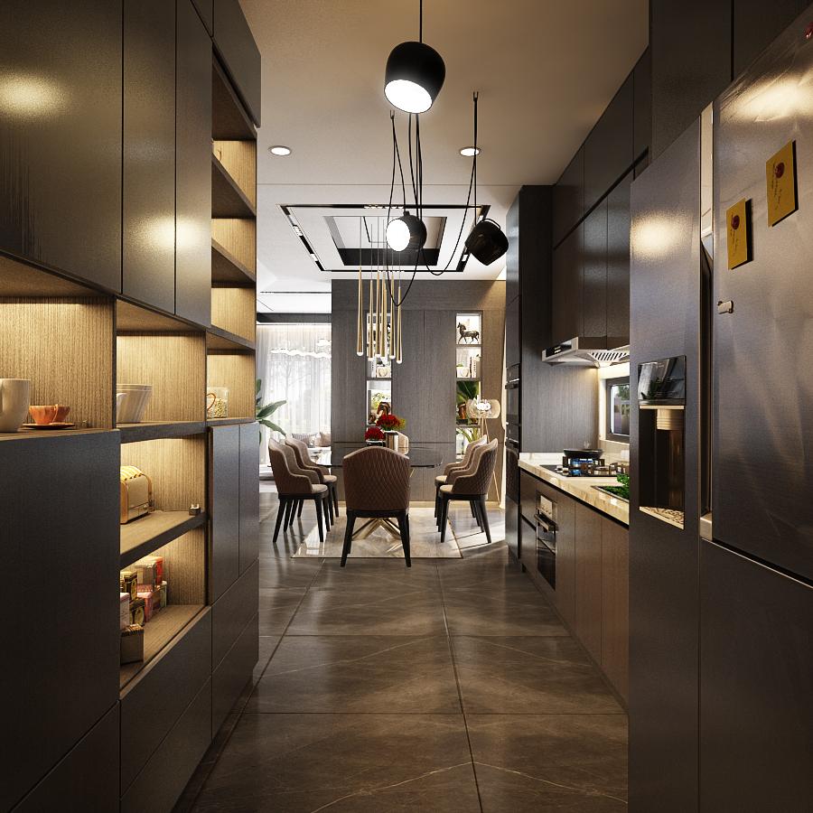 thiết kế nội thất Biệt Thự tại Hồ Chí Minh Noddy 3 1562643576