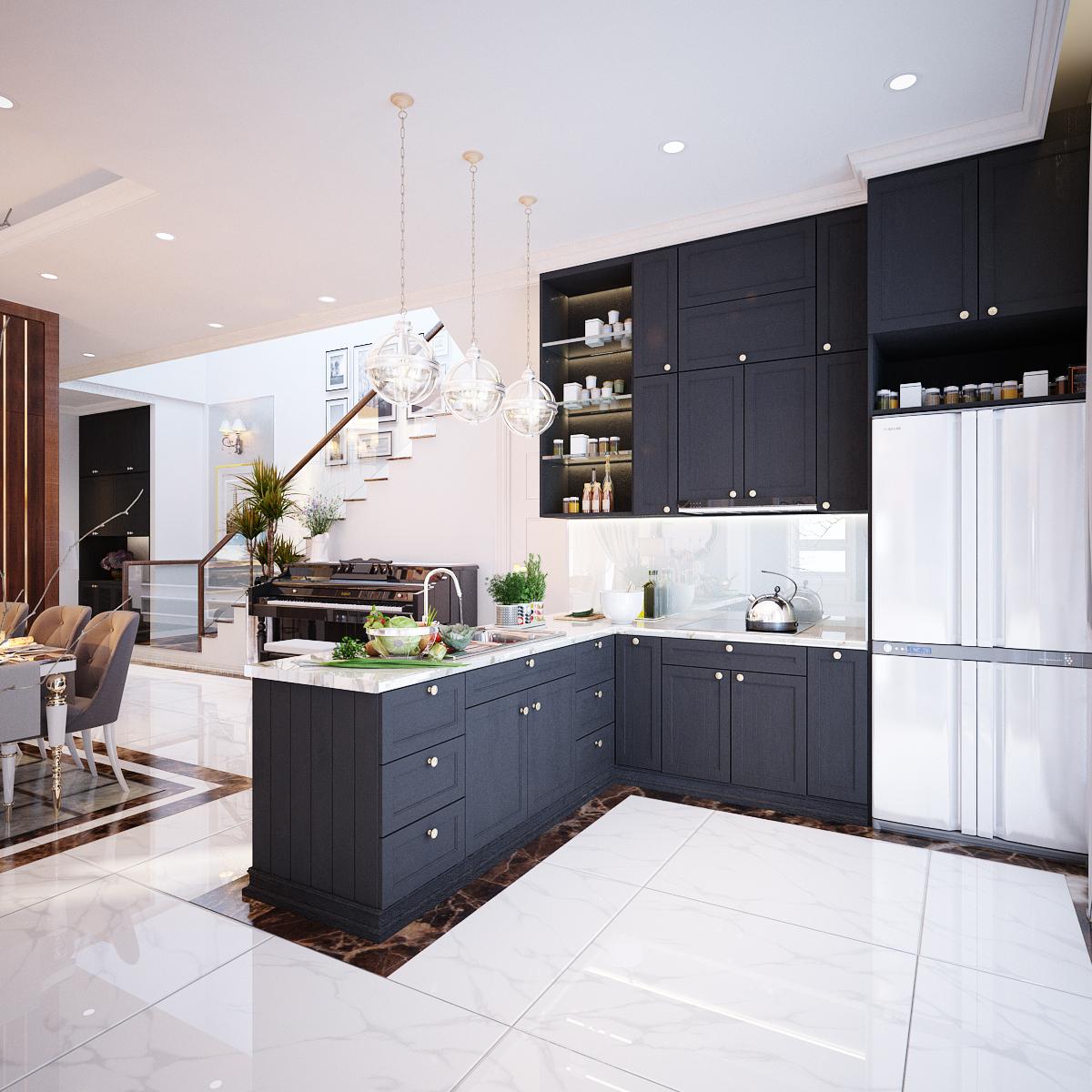 thiết kế nội thất Biệt Thự tại Hồ Chí Minh Biệt Thự Chị Thu 4 1550734330