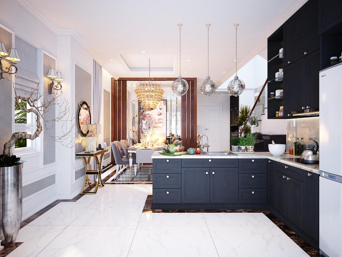 thiết kế nội thất Biệt Thự tại Hồ Chí Minh Biệt Thự Chị Thu 6 1550734330