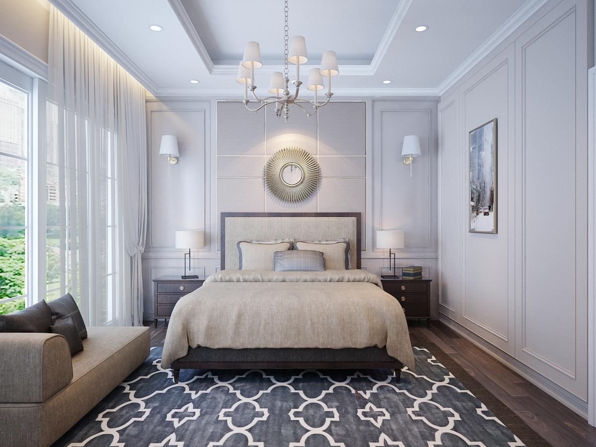 thiết kế nội thất Biệt Thự tại Hồ Chí Minh Biệt Thự Chị Thu 7 1550734332