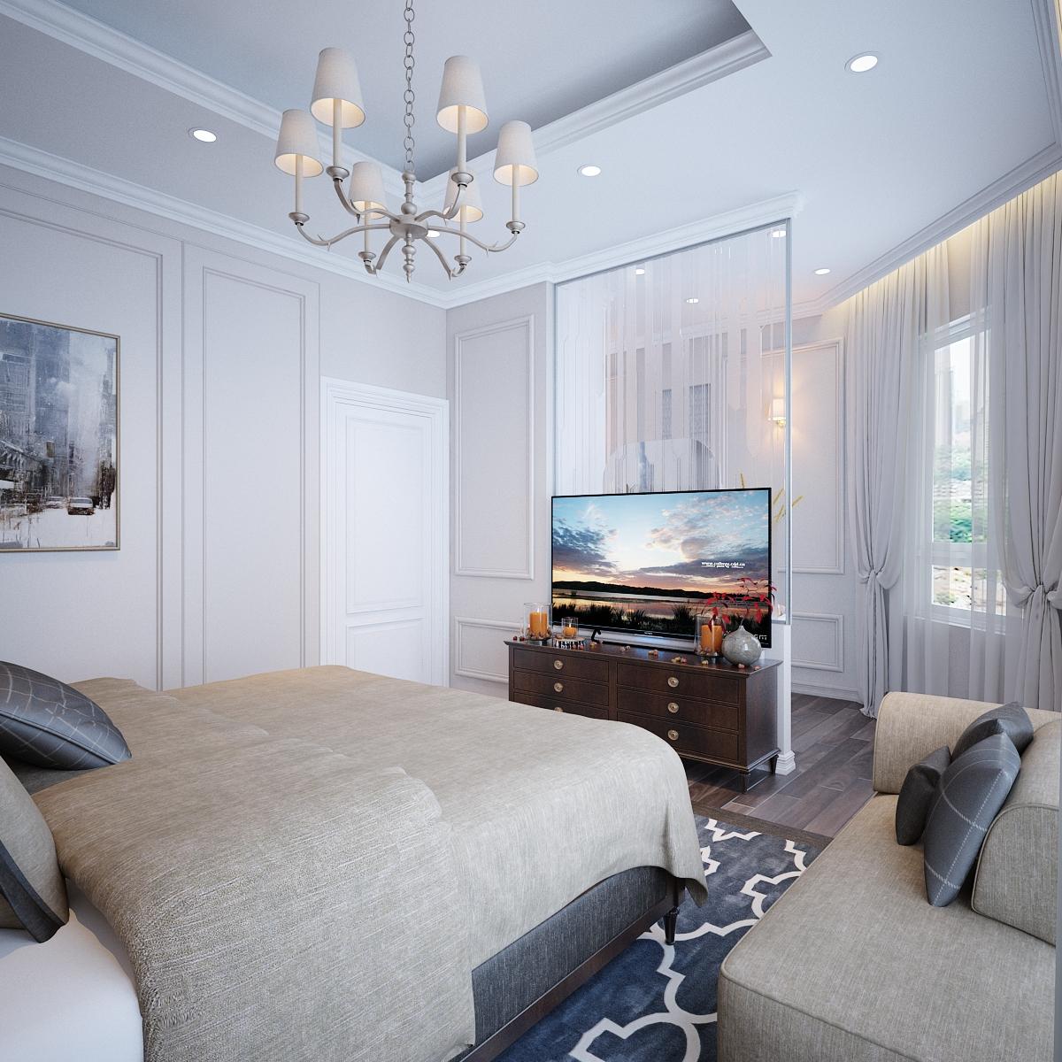 thiết kế nội thất Biệt Thự tại Hồ Chí Minh Biệt Thự Chị Thu 9 1550734333