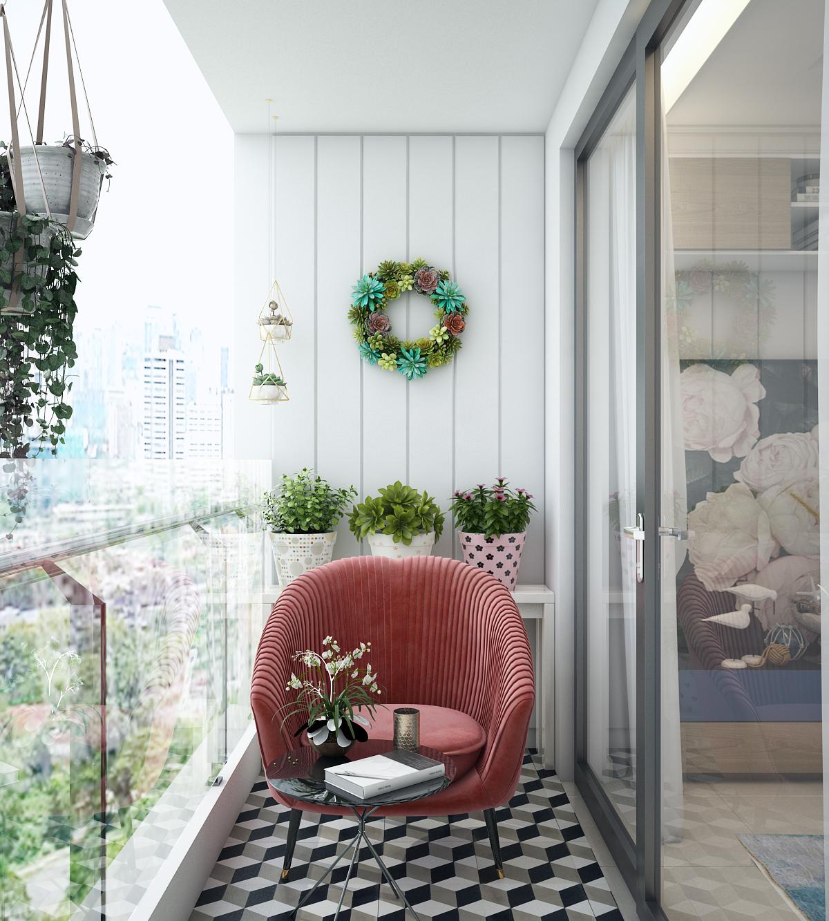 thiết kế nội thất chung cư tại Hồ Chí Minh Chị Ngọc_Goldview 10 1550734617