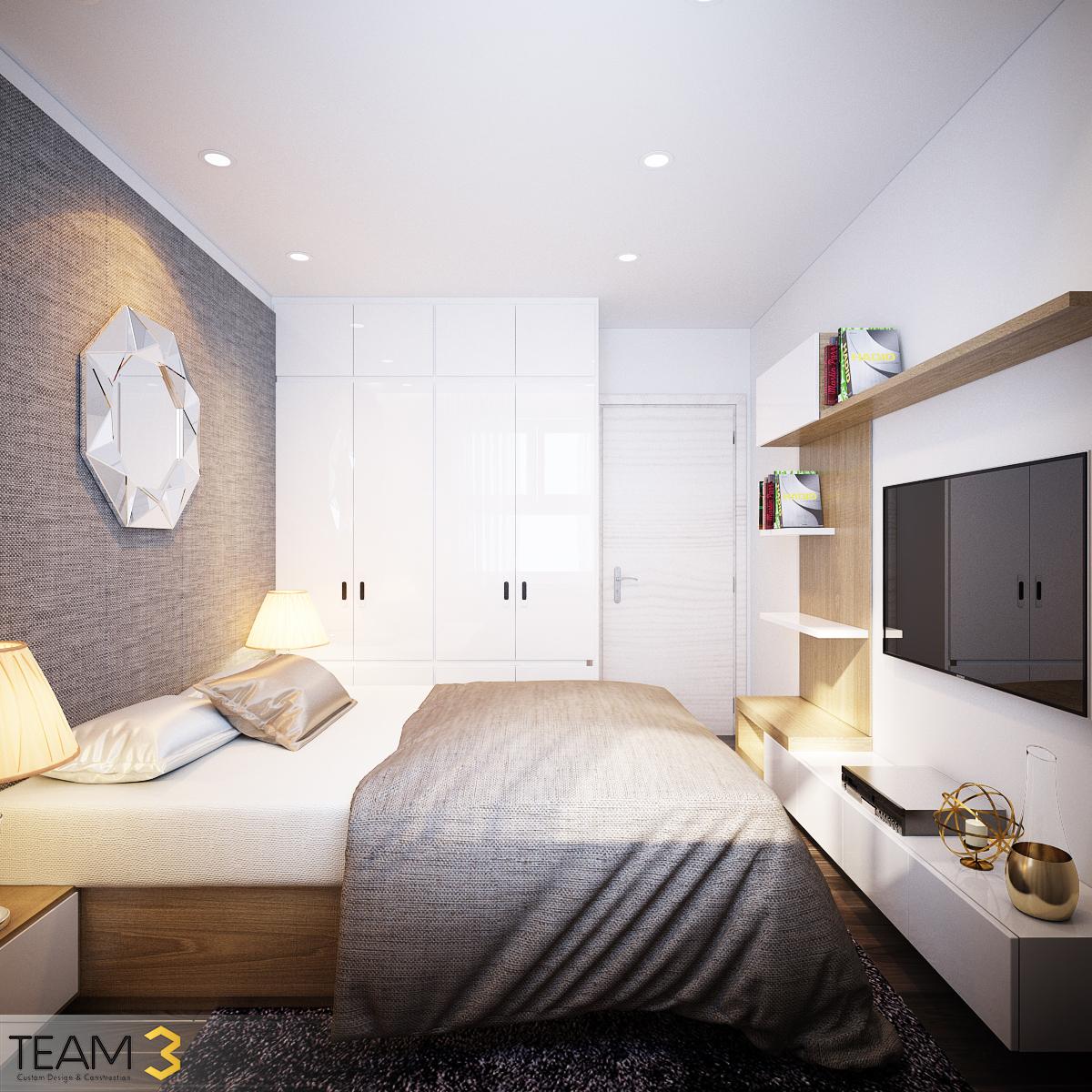 thiết kế nội thất chung cư tại Hồ Chí Minh Diamond Loutus 10 1562643044