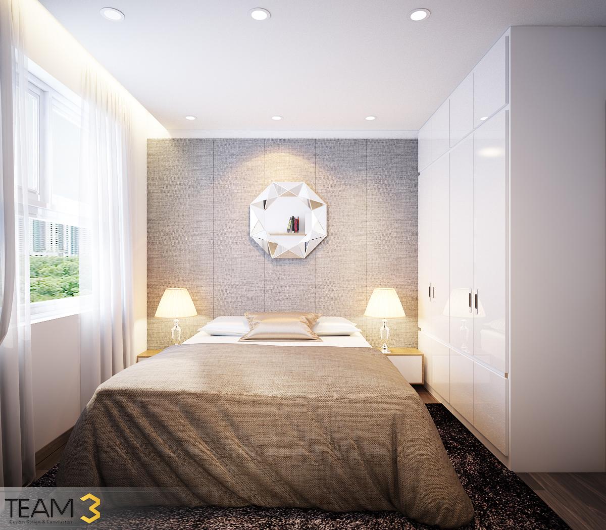 thiết kế nội thất chung cư tại Hồ Chí Minh Diamond Loutus 11 1562643044