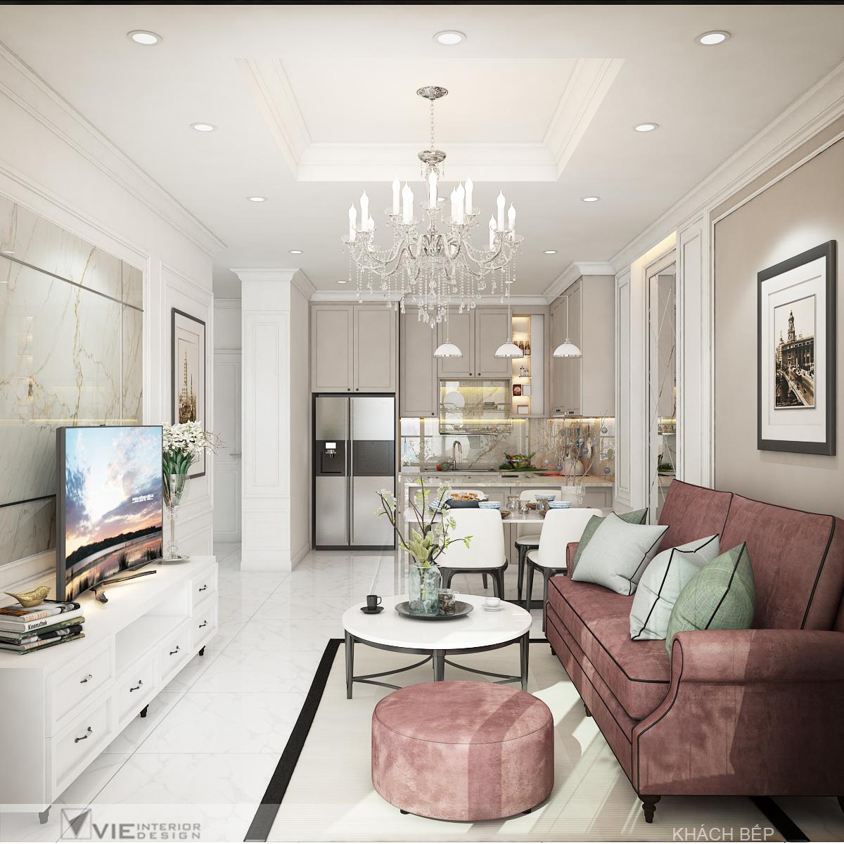 thiết kế nội thất chung cư tại Hồ Chí Minh Chi Phung_KINGTON-K18 1 1562641135