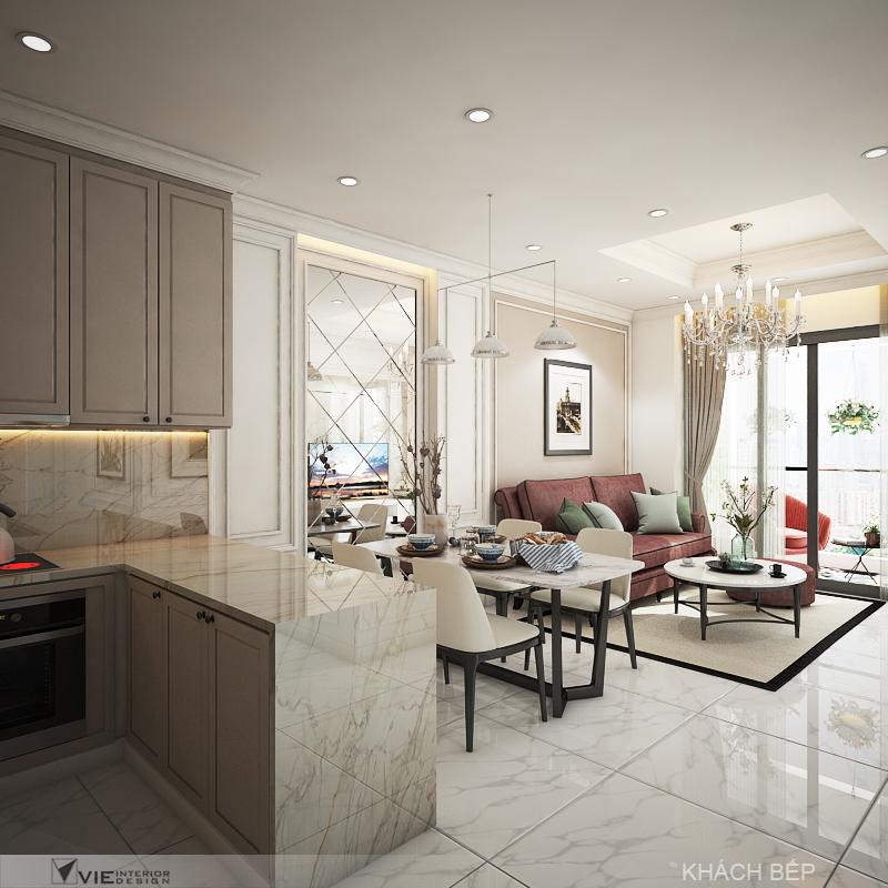 thiết kế nội thất chung cư tại Hồ Chí Minh Chi Phung_KINGTON-K18 16 1562641140