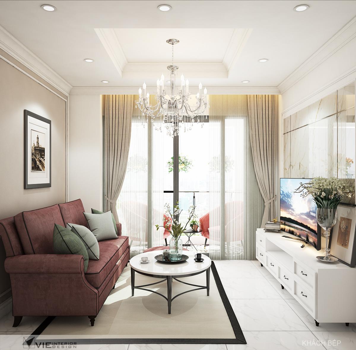 thiết kế nội thất chung cư tại Hồ Chí Minh Chi Phung_KINGTON-K18 2 1562641137