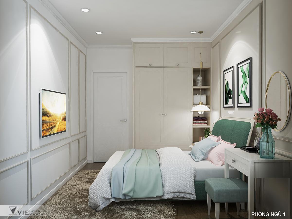 thiết kế nội thất chung cư tại Hồ Chí Minh Chi Phung_KINGTON-K18 27 1562641143