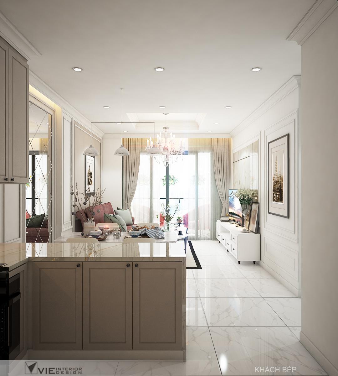 thiết kế nội thất chung cư tại Hồ Chí Minh Chi Phung_KINGTON-K18 4 1562641137