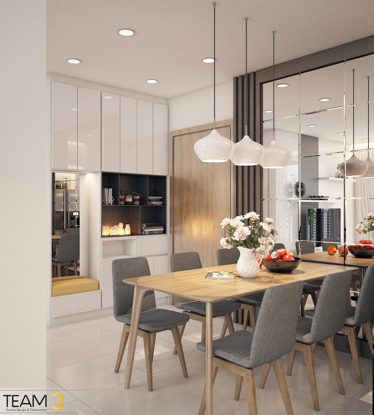 thiết kế nội thất chung cư tại Hồ Chí Minh Diamond Loutus 4 1562643042