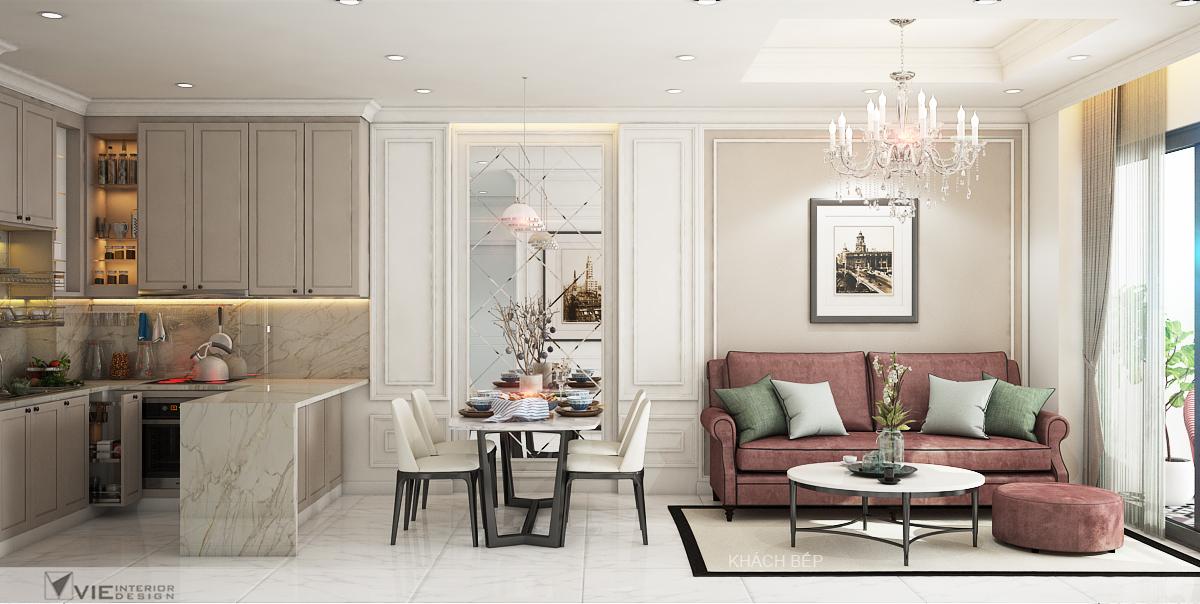 thiết kế nội thất chung cư tại Hồ Chí Minh Chi Phung_KINGTON-K18 5 1562641138