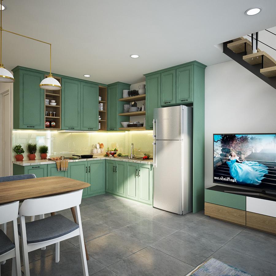 thiết kế nội thất chung cư tại Hồ Chí Minh Sky 9 5 1562643460