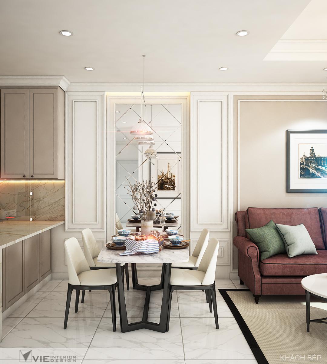 thiết kế nội thất chung cư tại Hồ Chí Minh Chi Phung_KINGTON-K18 7 1562641138