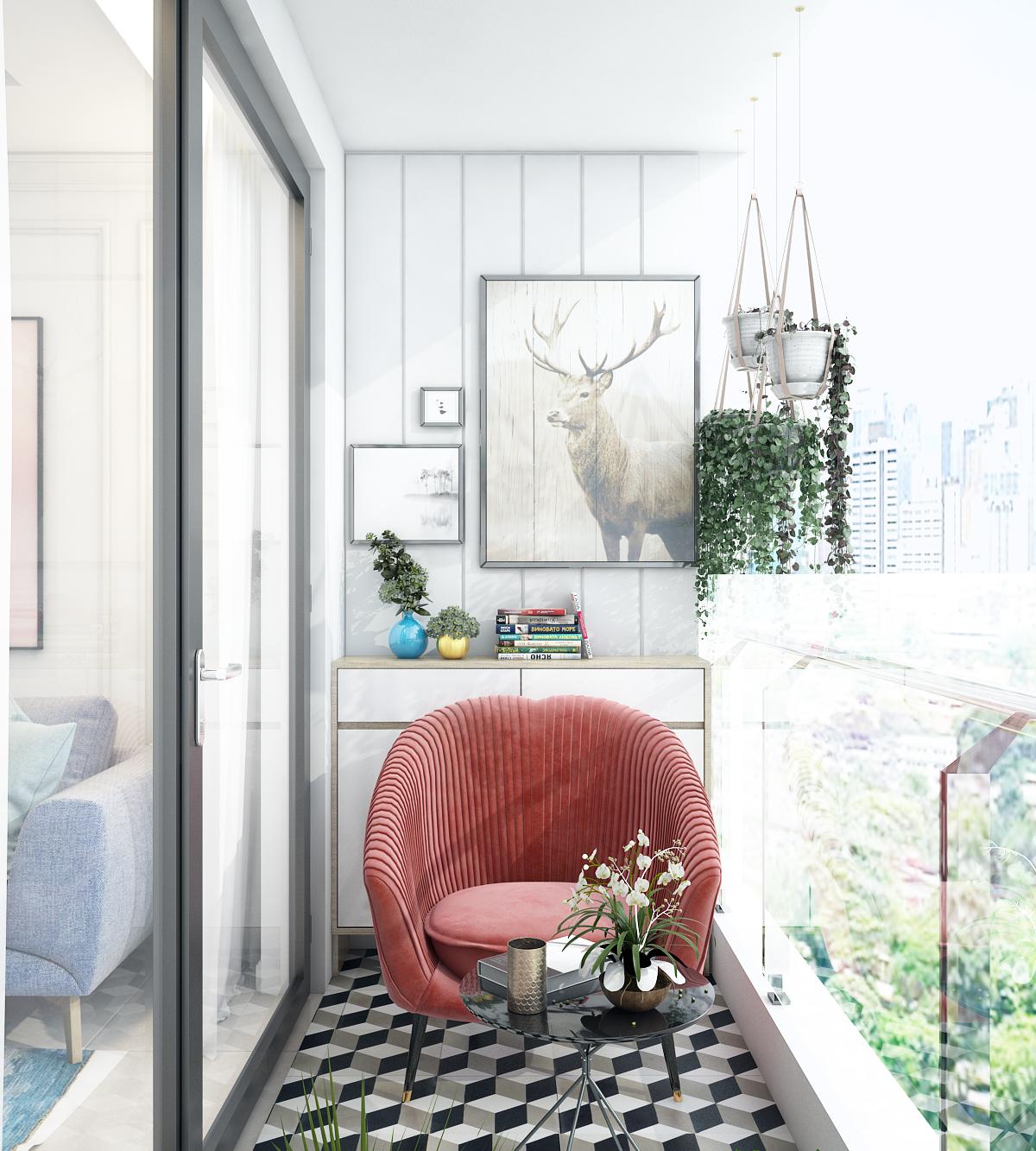 thiết kế nội thất chung cư tại Hồ Chí Minh Chị Ngọc_Goldview 9 1550734617