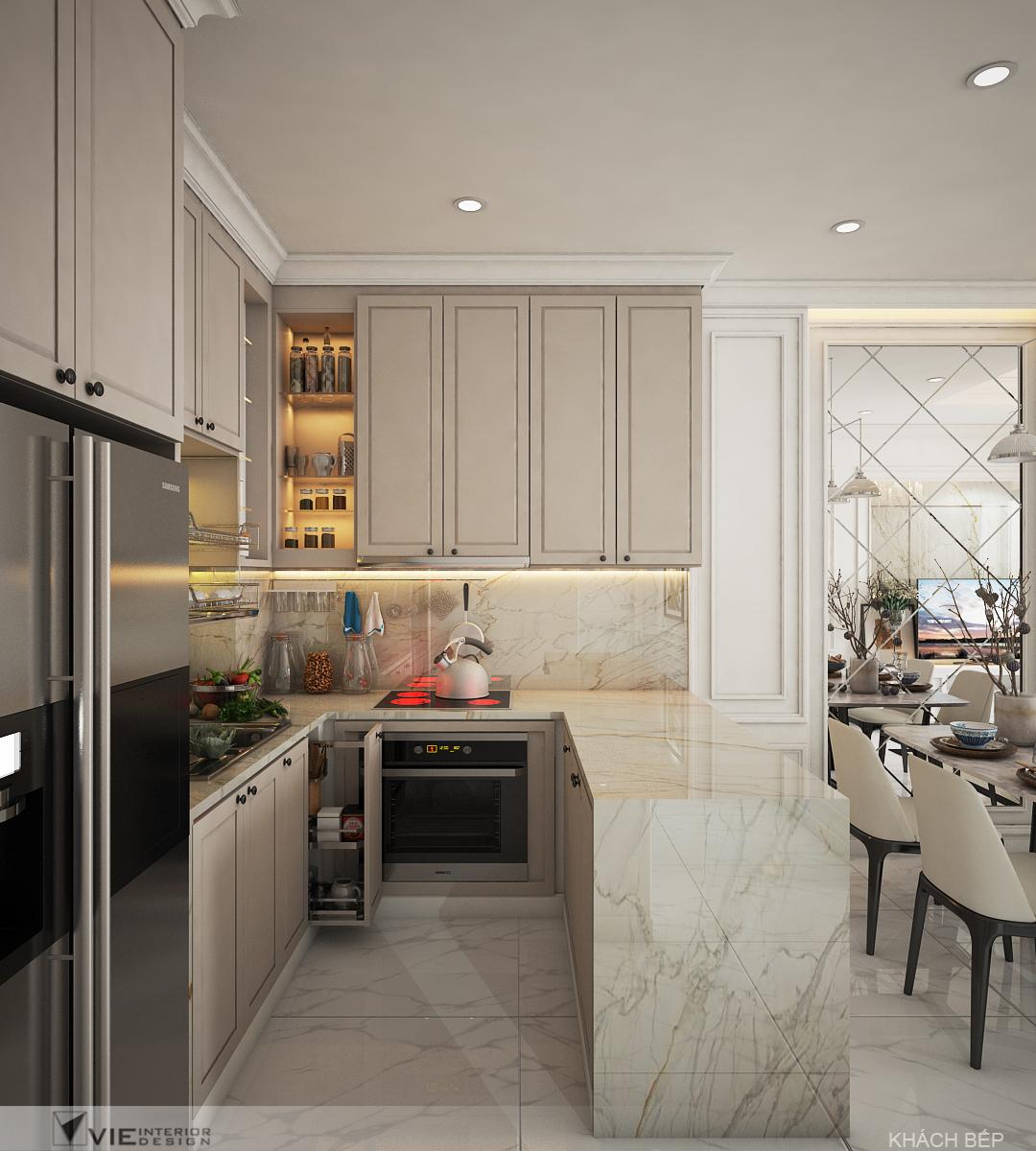 thiết kế nội thất chung cư tại Hồ Chí Minh Chi Phung_KINGTON-K18 9 1562641138