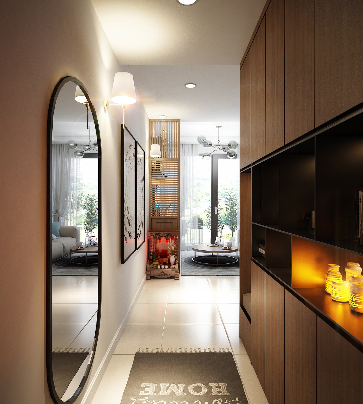 Thiết kế nội thất Chung Cư tại Hồ Chí Minh Anh Tú_Hausneo 1576125811 0