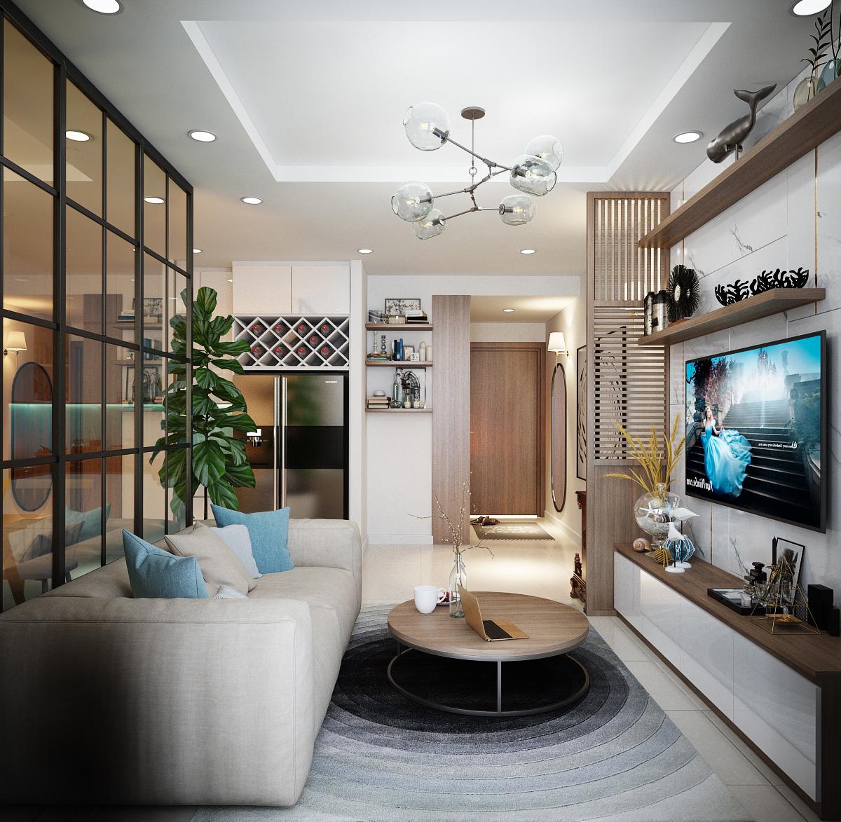 Thiết kế nội thất Chung Cư tại Hồ Chí Minh Anh Tú_Hausneo 1576125813 3