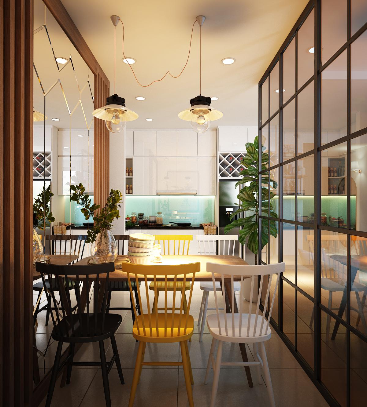 Thiết kế nội thất Chung Cư tại Hồ Chí Minh Anh Tú_Hausneo 1576125813 4