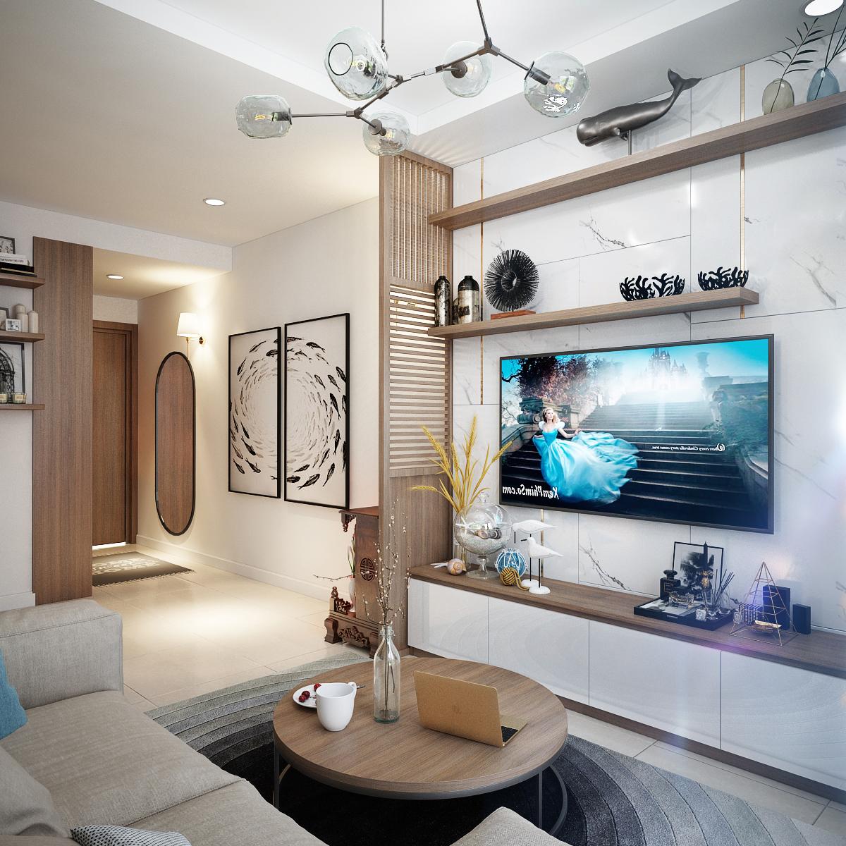 Thiết kế nội thất Chung Cư tại Hồ Chí Minh Anh Tú_Hausneo 1576125813 5