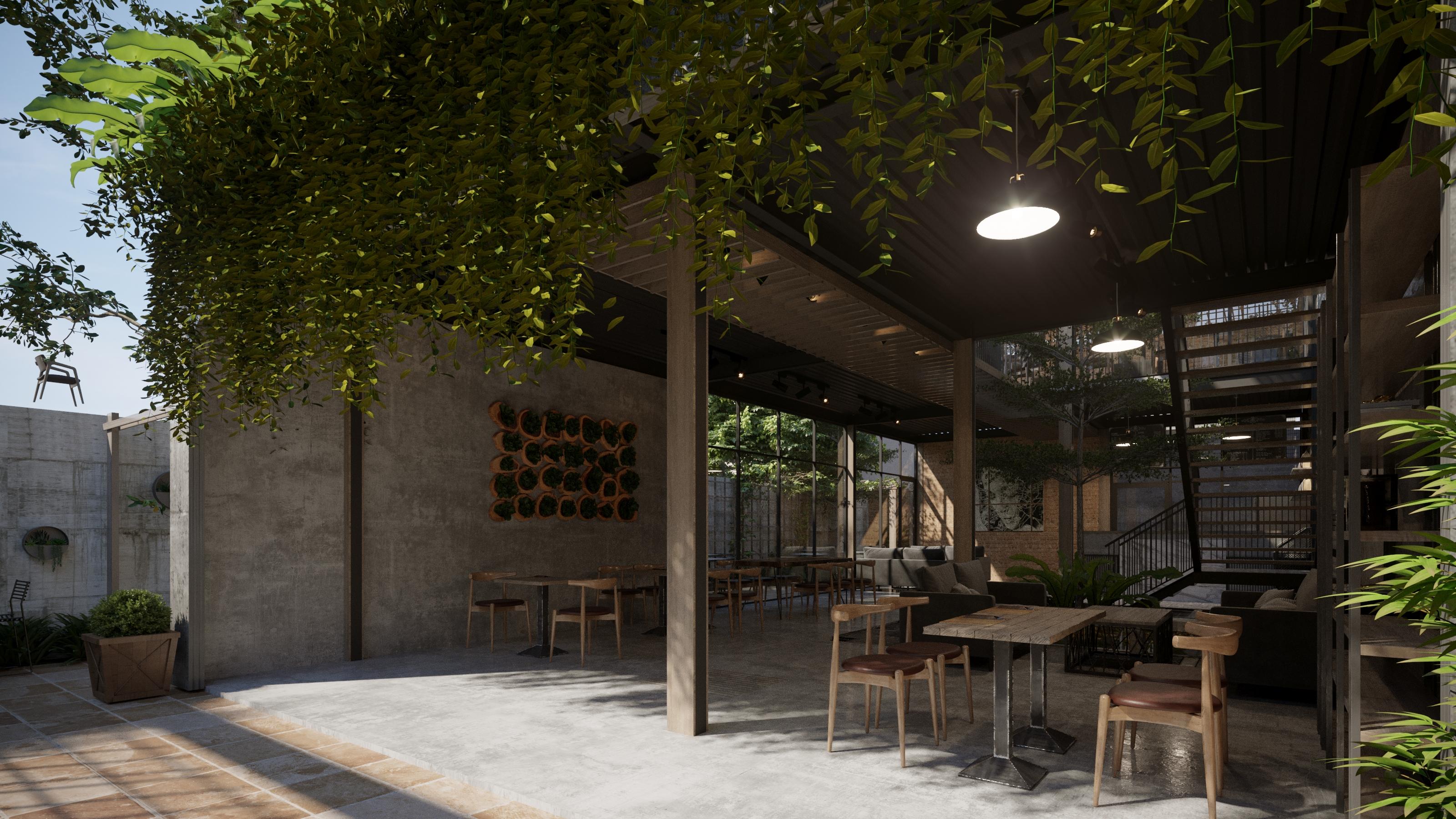 thiết kế nội thất Cafe tại Hồ Chí Minh COFFEE HOUSE 6 1565795213