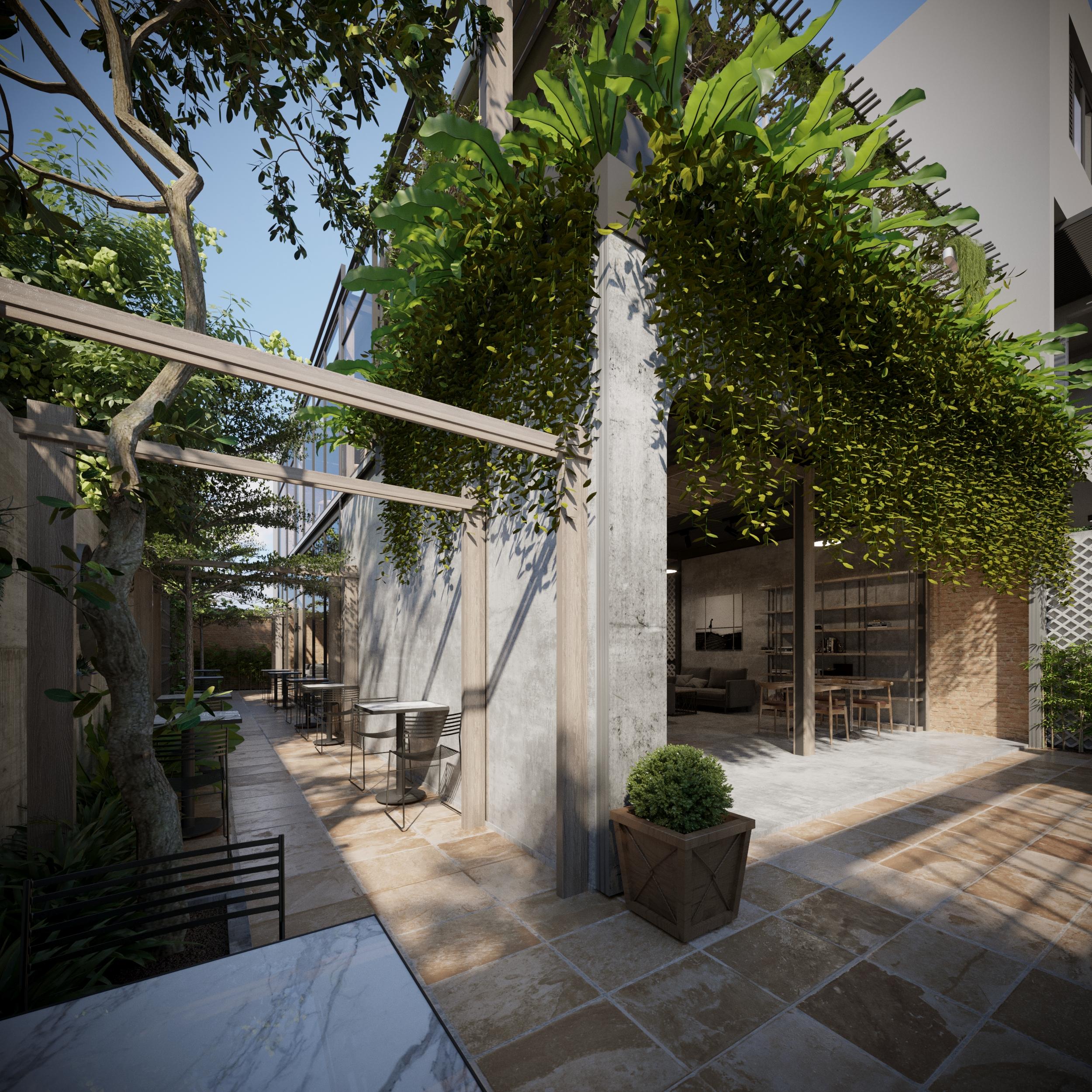 thiết kế nội thất Cafe tại Hồ Chí Minh COFFEE HOUSE 7 1565795215