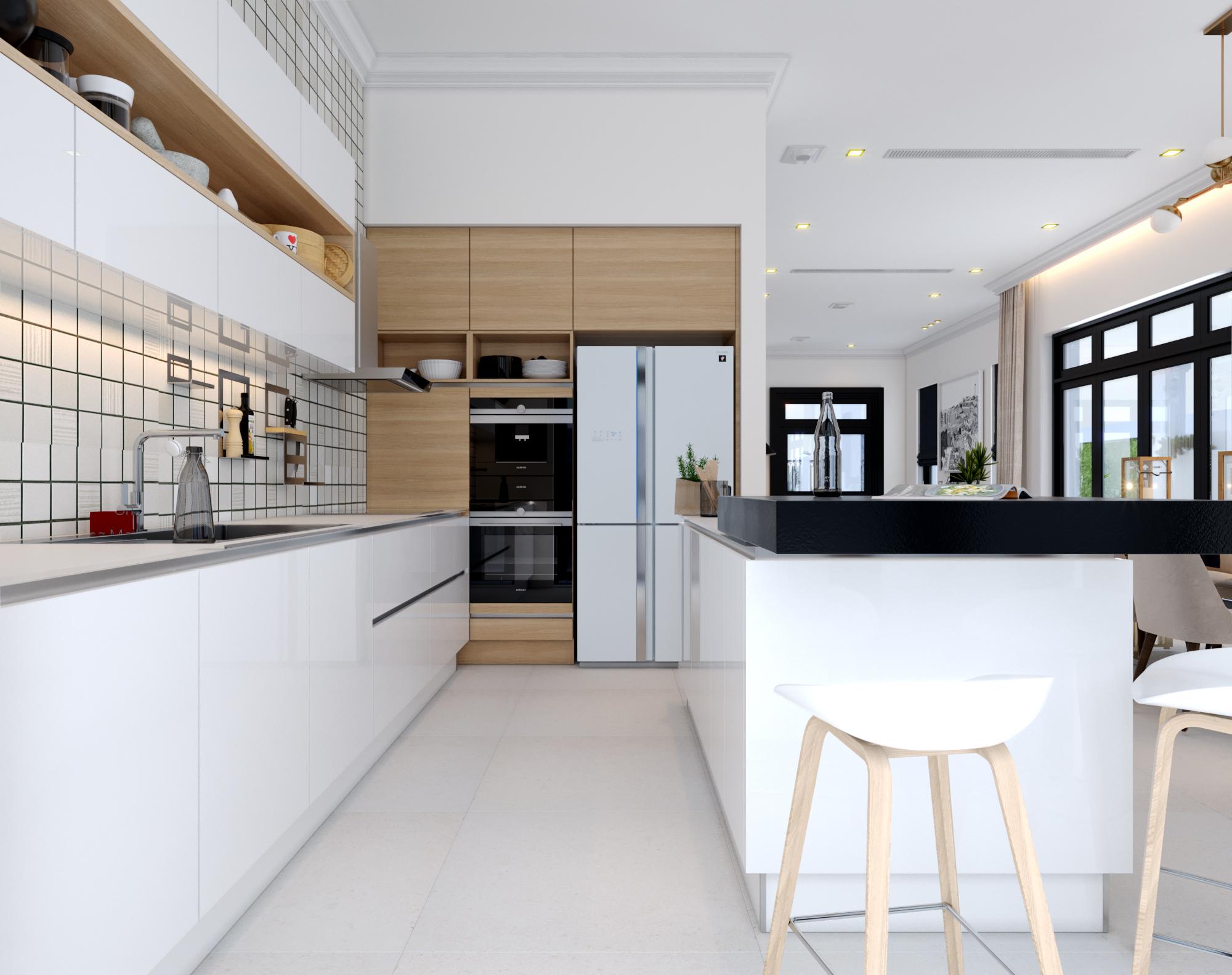 thiết kế Nội thất Biệt Thự 4 tầng Biệt thự Vinhomes - the Harmony1010