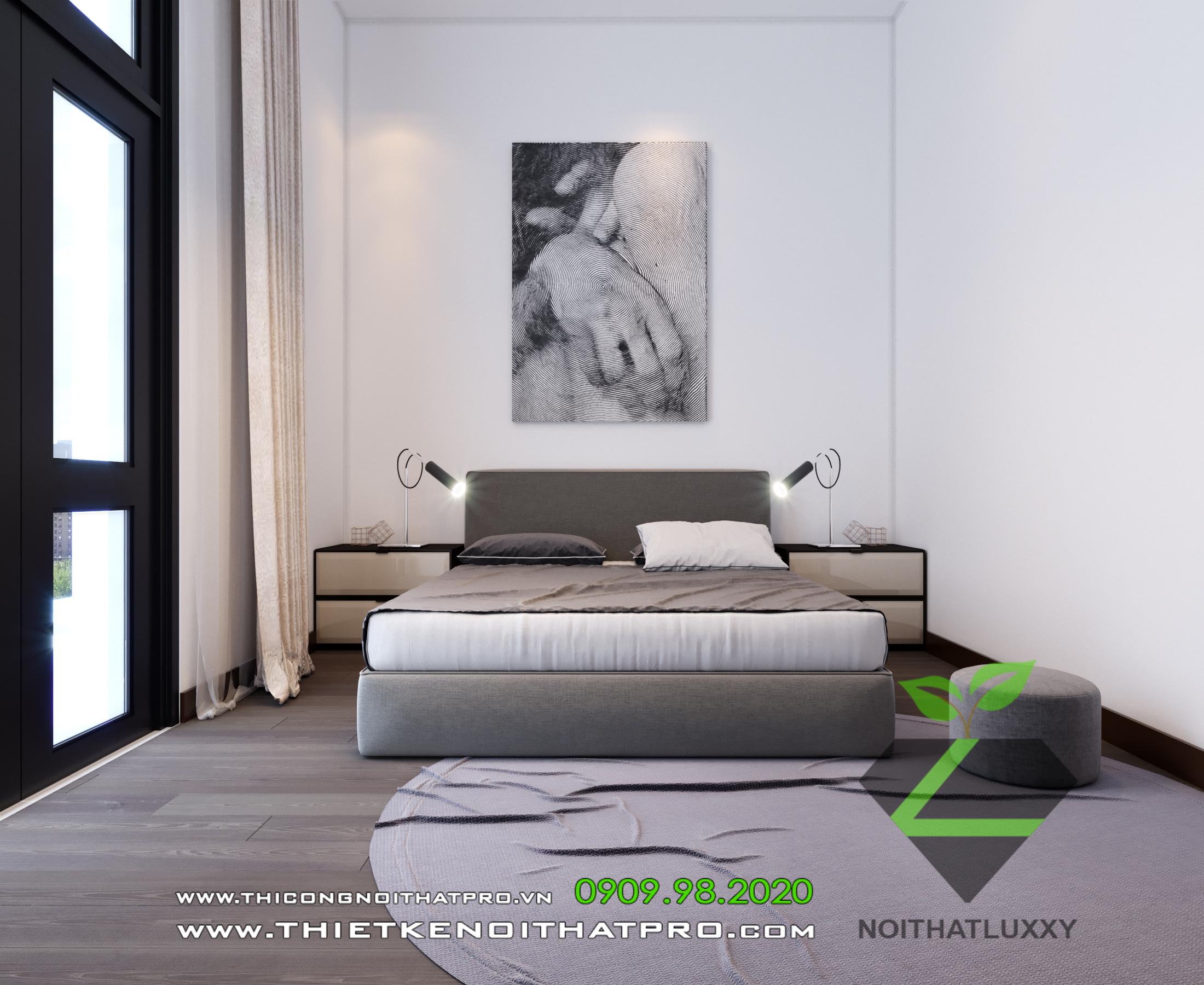 thiết kế Nội thất Biệt Thự 4 tầng Biệt thự Vinhomes - the Harmony112
