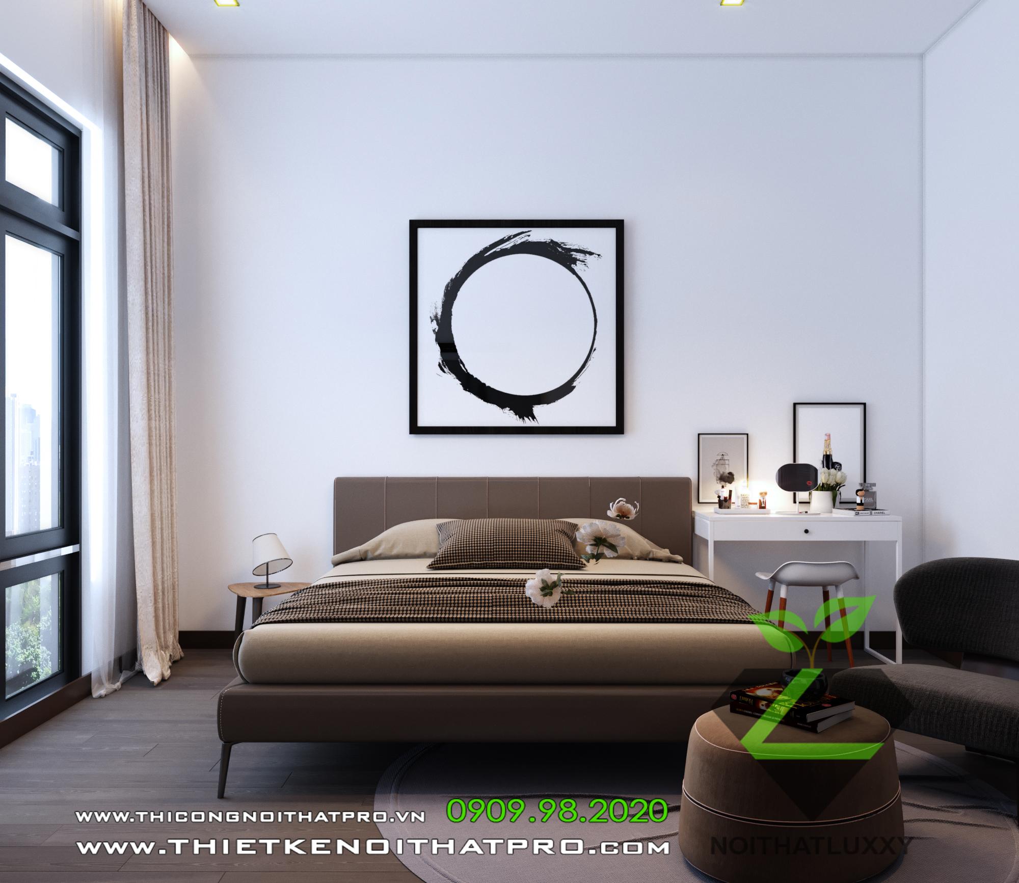 thiết kế Nội thất Biệt Thự 4 tầng Biệt thự Vinhomes - the Harmony1310
