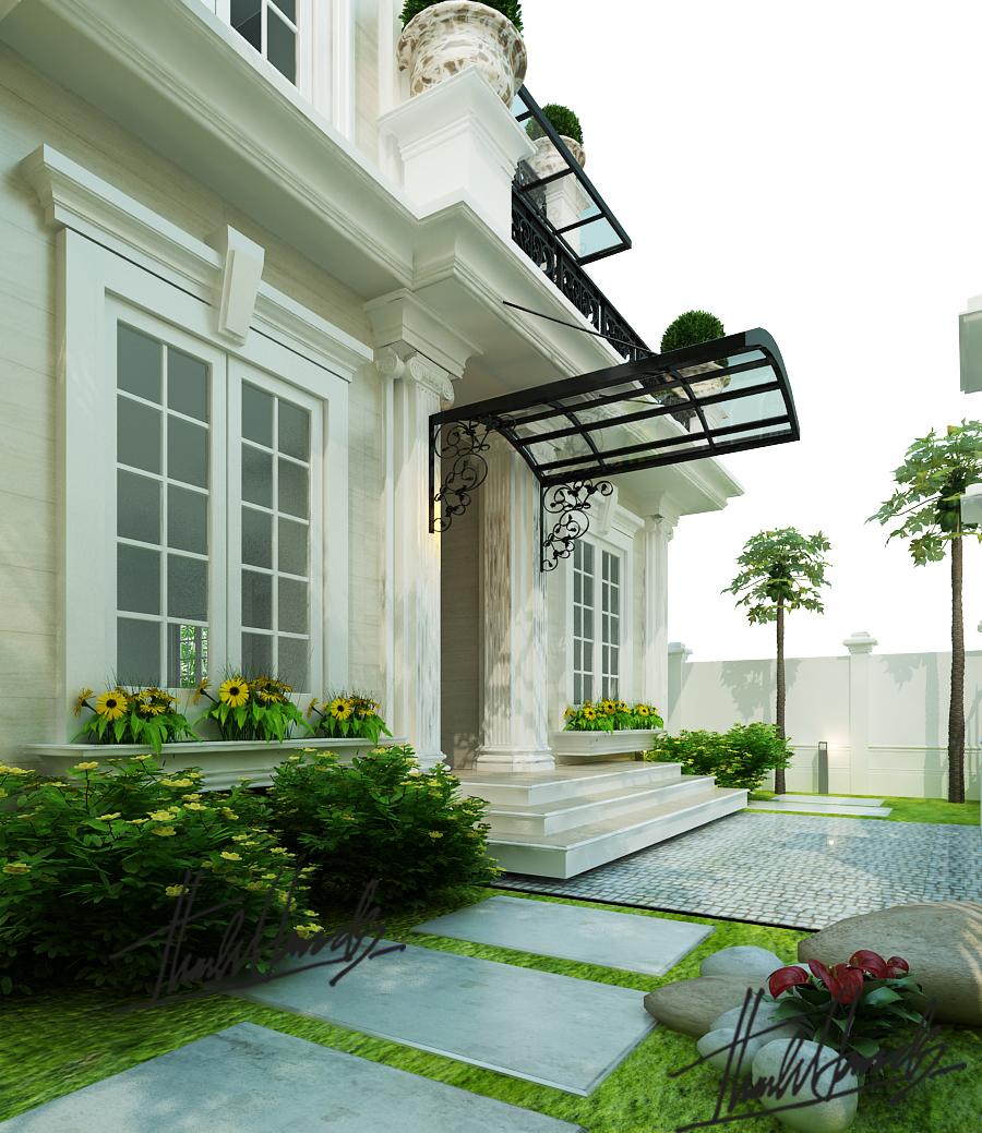 thiết kế nội thất Biệt Thự tại Hà Nội Biệt thự - Việt Hưng  0 1568273816