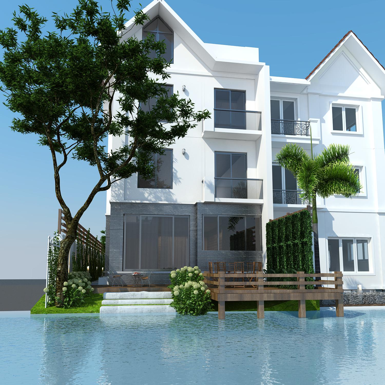 thiết kế nội thất Biệt Thự tại Hà Nội bt Vinhomes - riverside 1 1568085324