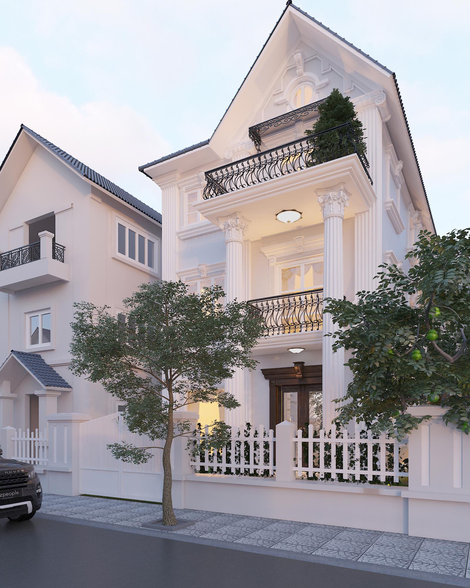 thiết kế nội thất Biệt Thự tại Hà Nội bt Vinhomes - riverside 1 1568276258
