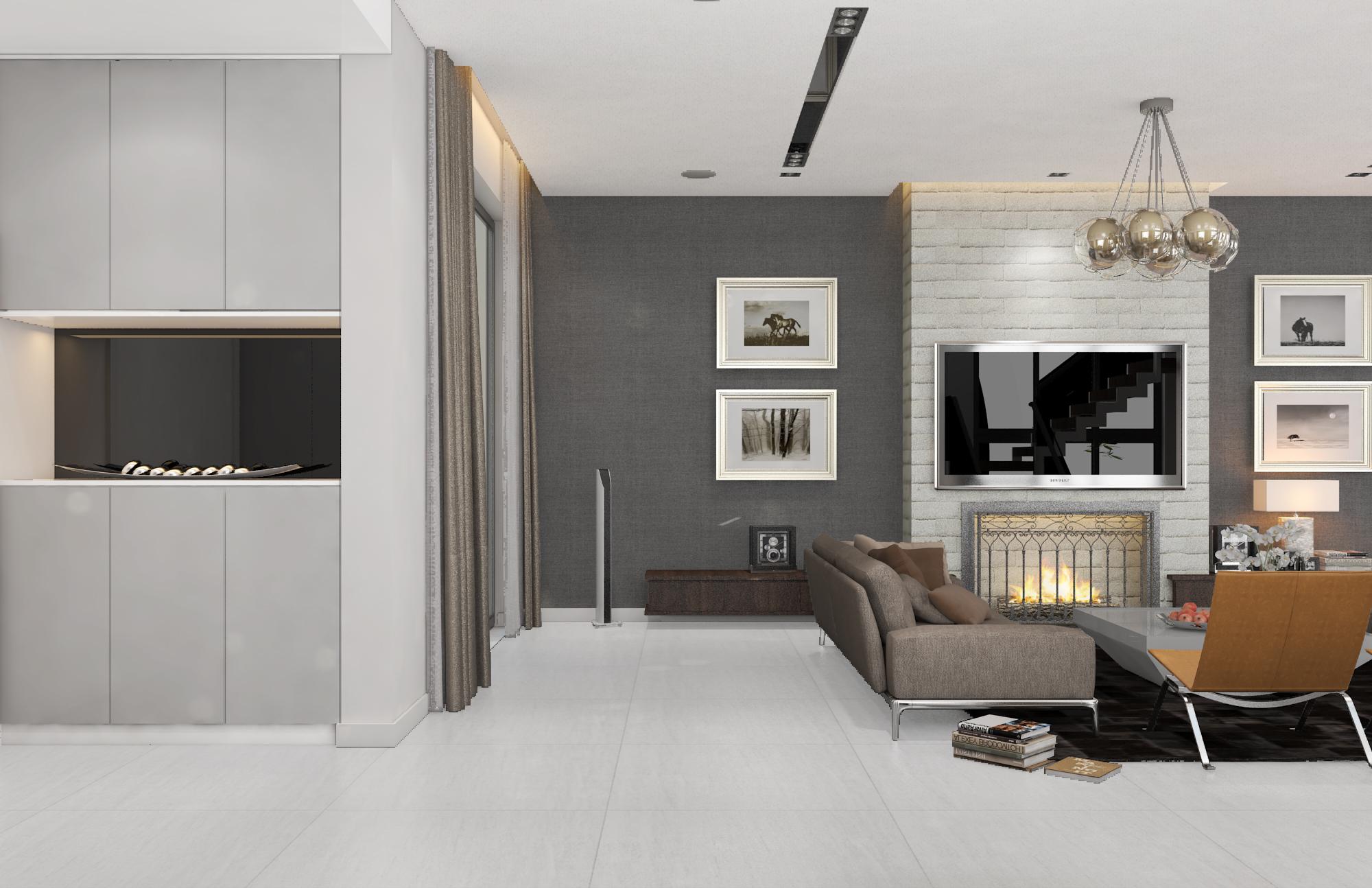 thiết kế nội thất Biệt Thự tại Hà Nội bt Vinhomes - riverside 12 1568085335