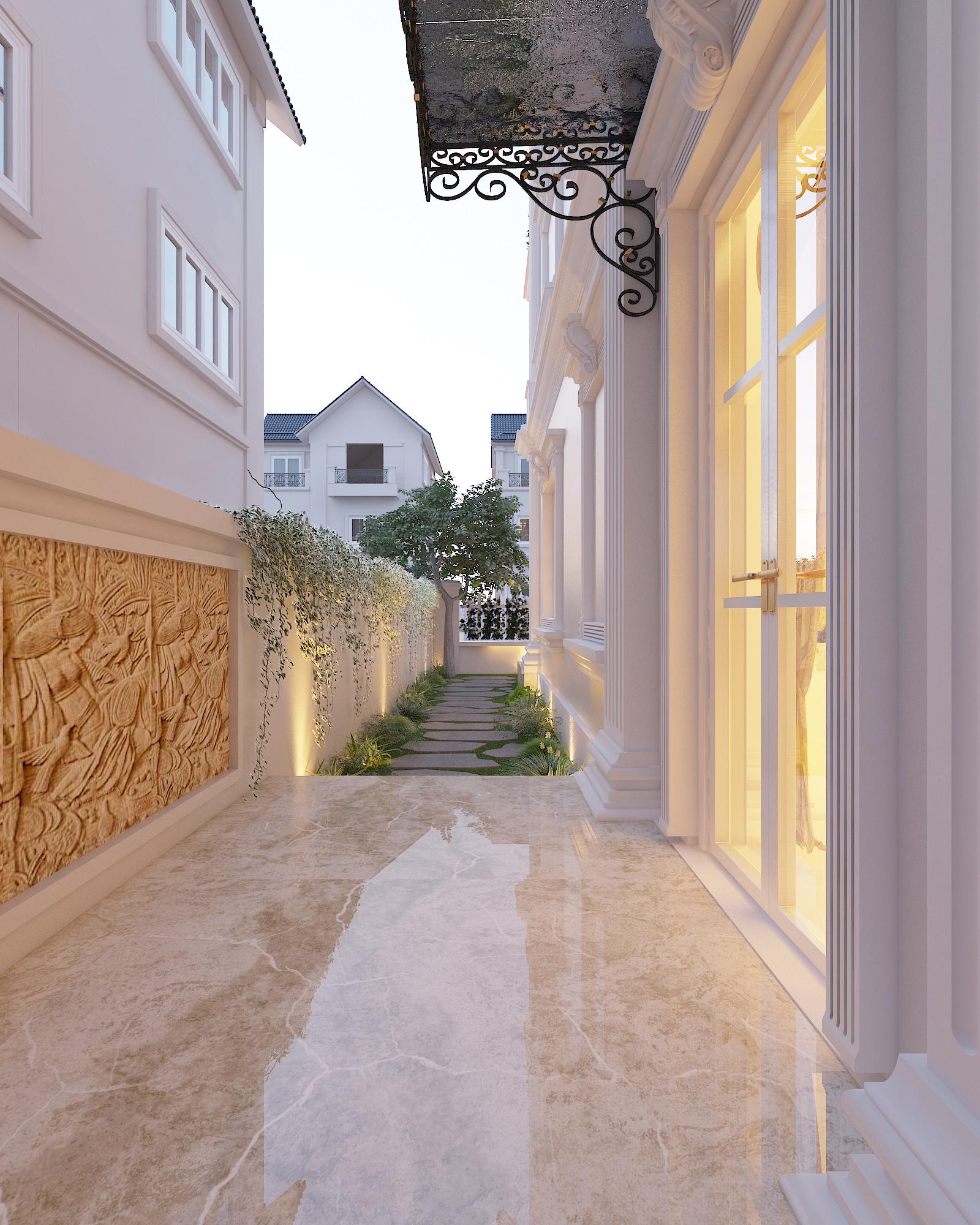 thiết kế nội thất Biệt Thự tại Hà Nội bt Vinhomes - riverside 12 1568276263