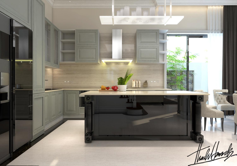 thiết kế nội thất Biệt Thự tại Hà Nội bt Vinhomes - riverside 17 1568274528