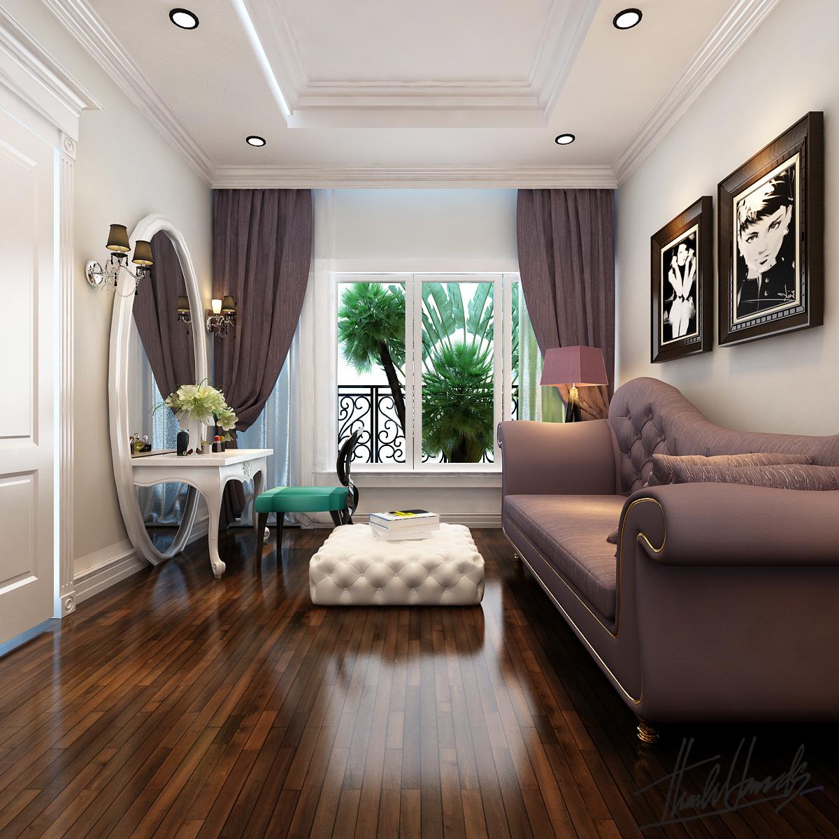 thiết kế nội thất Biệt Thự tại Hà Nội Biệt thự - Việt Hưng  18 1568273824