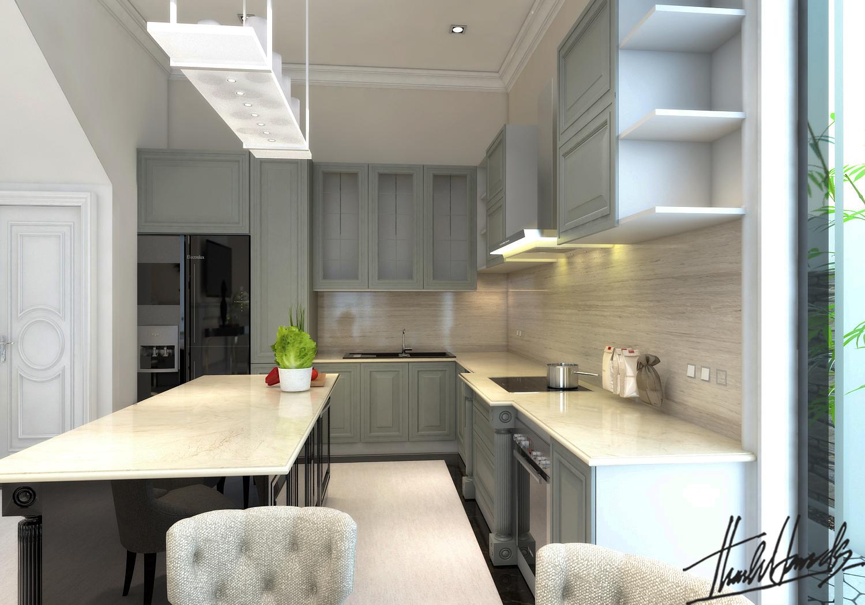 thiết kế nội thất Biệt Thự tại Hà Nội bt Vinhomes - riverside 18 1568274529