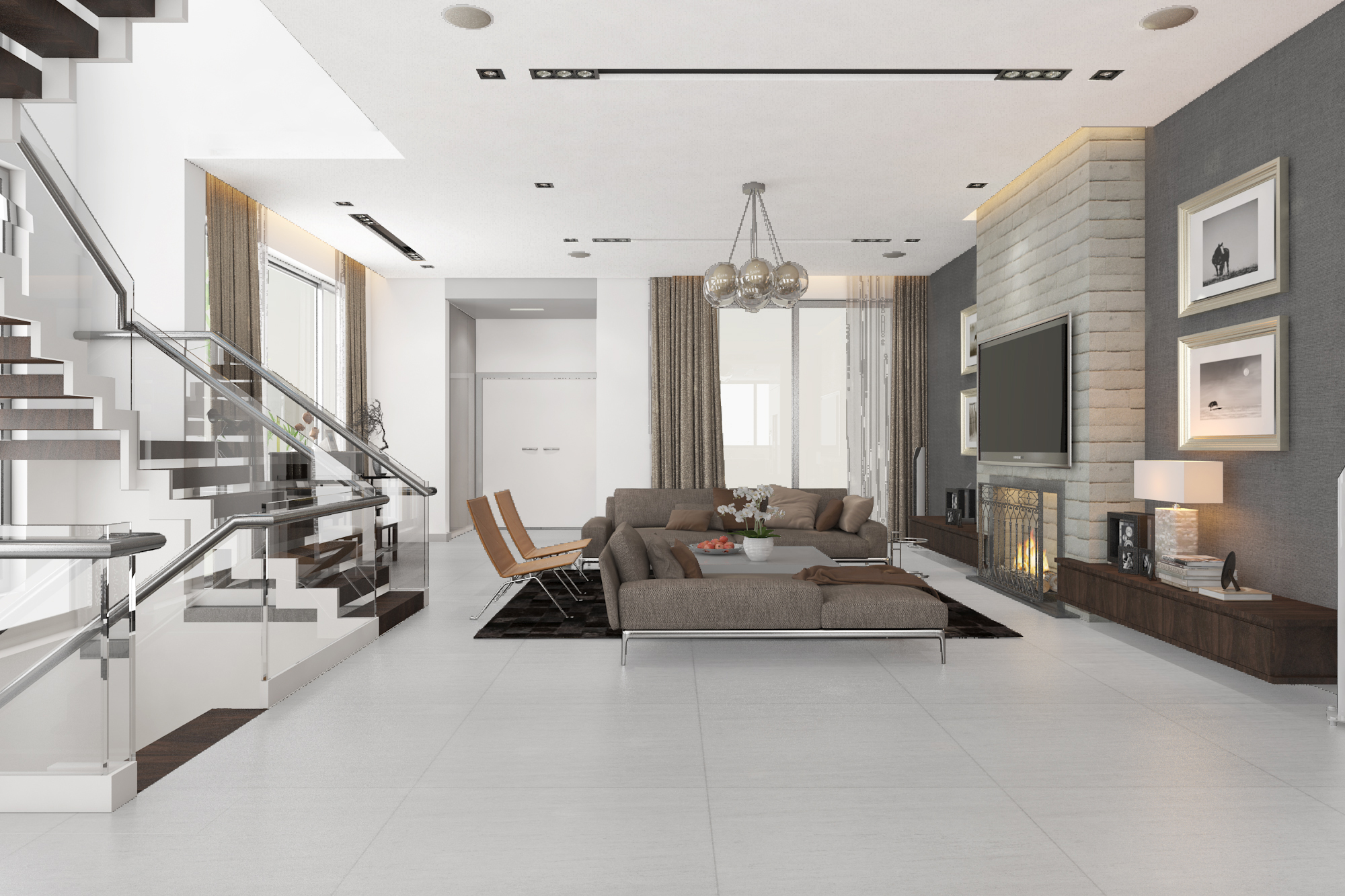 thiết kế nội thất Biệt Thự tại Hà Nội bt Vinhomes - riverside 19 1568085346