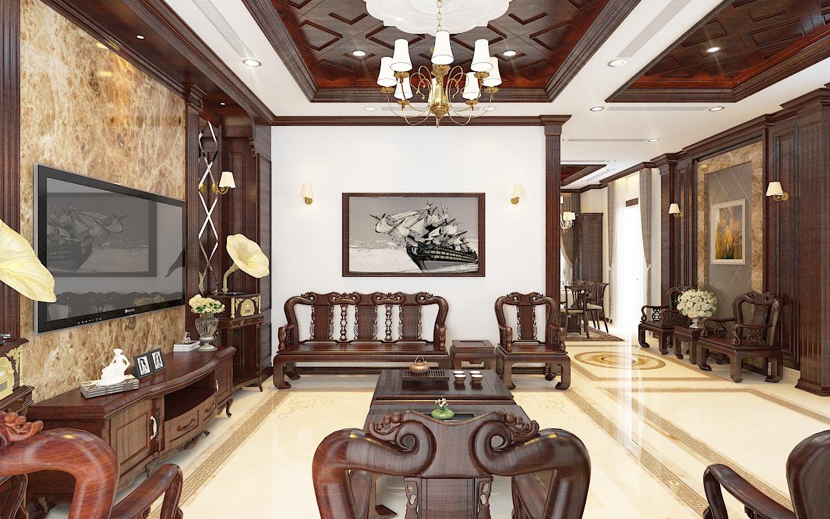 thiết kế nội thất Biệt Thự tại Hà Nội bt Vinhomes - riverside 19 1568276266
