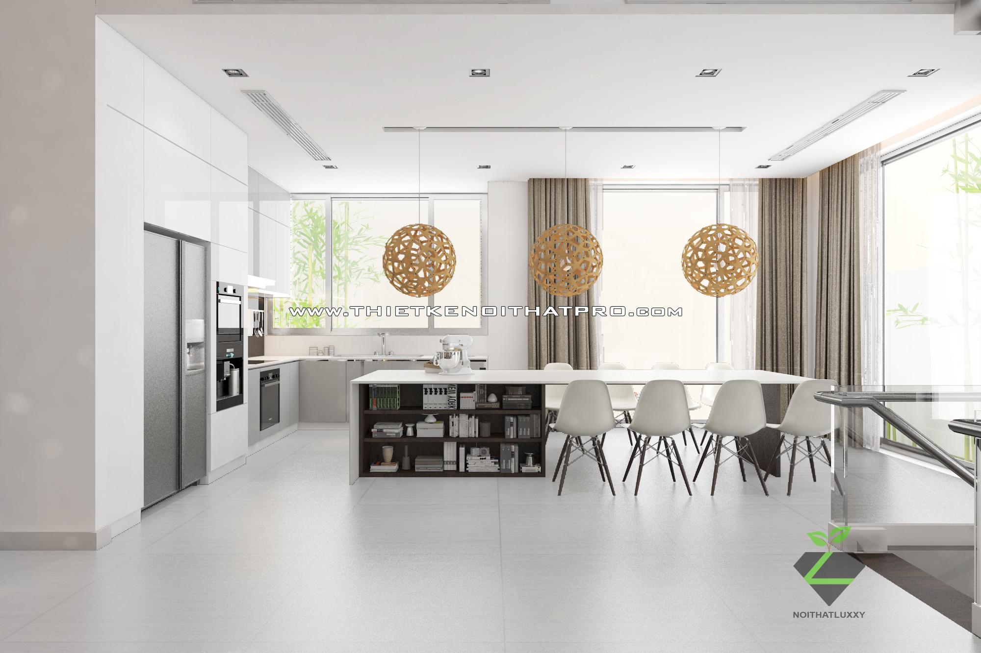 thiết kế nội thất Biệt Thự tại Hà Nội bt Vinhomes - riverside 20 1568085347