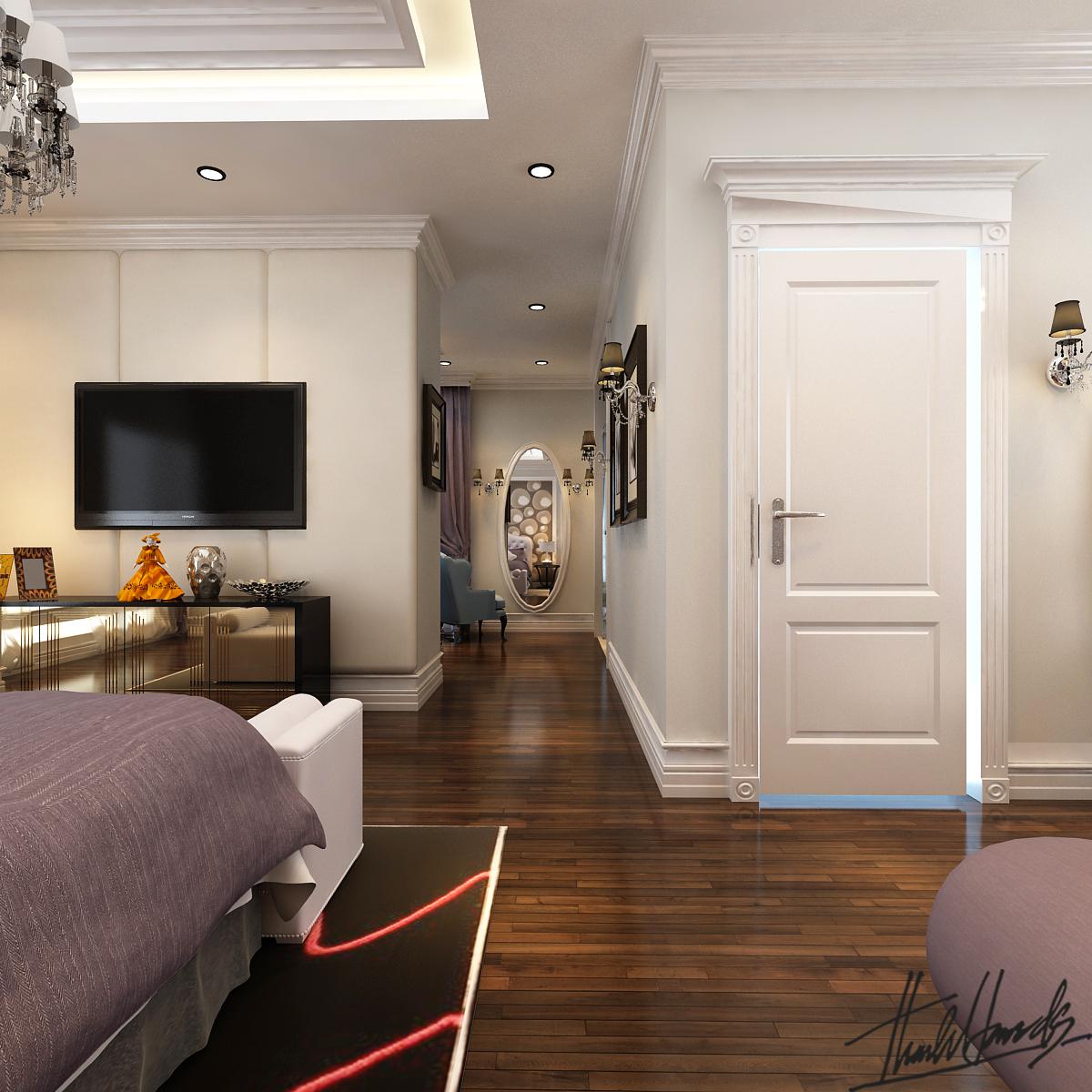 thiết kế nội thất Biệt Thự tại Hà Nội Biệt thự - Việt Hưng  20 1568273824