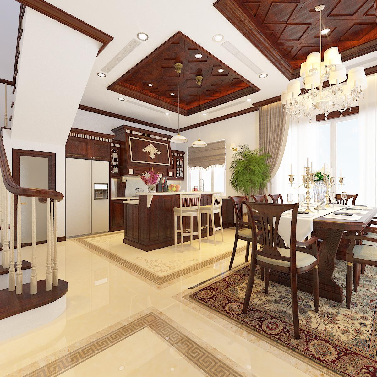 thiết kế nội thất Biệt Thự tại Hà Nội bt Vinhomes - riverside 20 1568276267