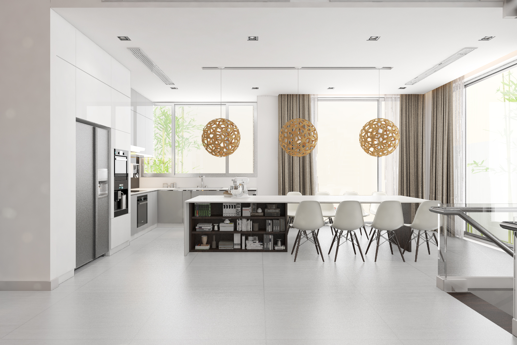 thiết kế nội thất Biệt Thự tại Hà Nội bt Vinhomes - riverside 21 1568085348