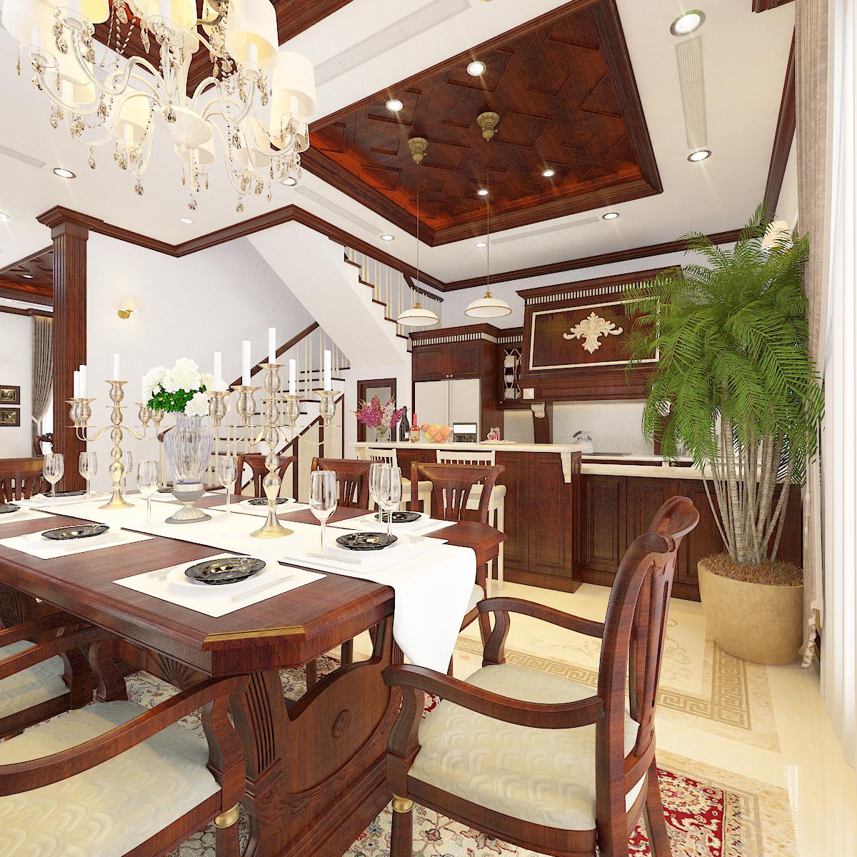 thiết kế nội thất Biệt Thự tại Hà Nội bt Vinhomes - riverside 21 1568276269