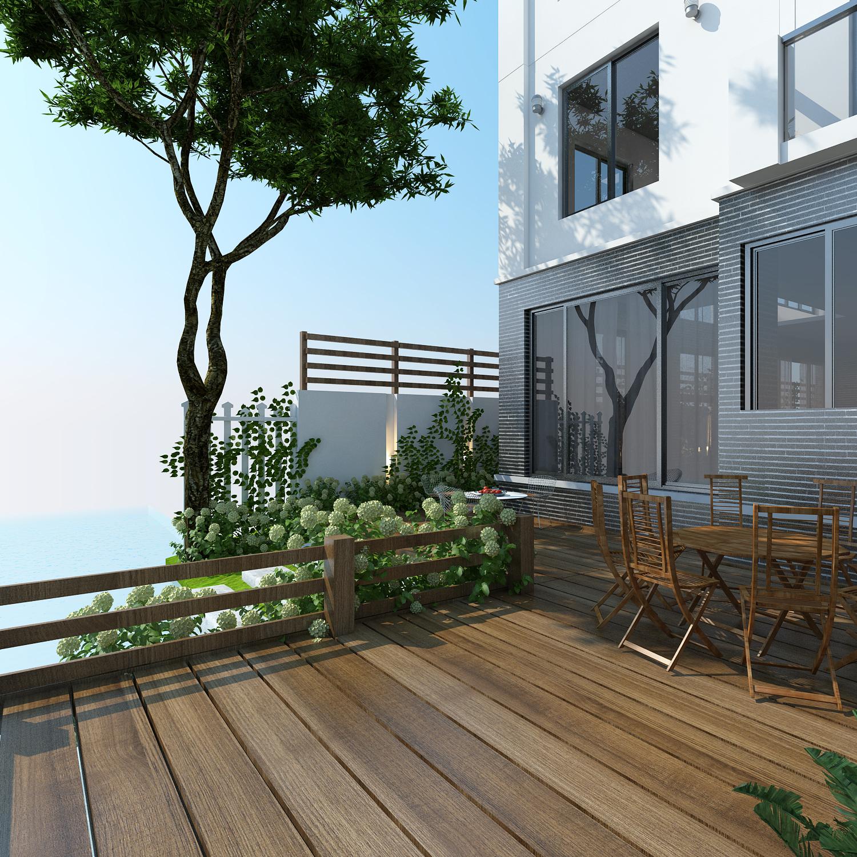 thiết kế nội thất Biệt Thự tại Hà Nội bt Vinhomes - riverside 2 1568085324